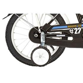 """Vermont City Police Lapset lasten polkupyörä 18"""" , valkoinen/musta"""
